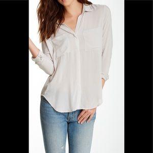 Cloth & Stone White Button Down Shirt